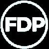 fdp white logo